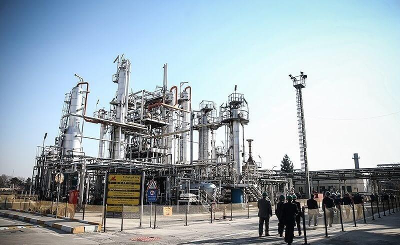پالایشگاه نفت پارس (تهران) - طراحی