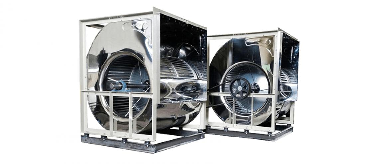 فن سانتریفیوژ فوروارد دو طرفه مدل DFT